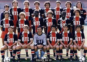 Equipe PSG 1980-1981